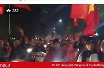 Khoảnh khắc ăn mừng đội tuyển U23 Việt Nam vào chung kết tràn ngập trên mạng