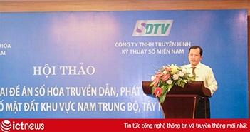SDTV công bố giá thuê truyền dẫn phát sóng truyền hình số rẻ bất ngờ