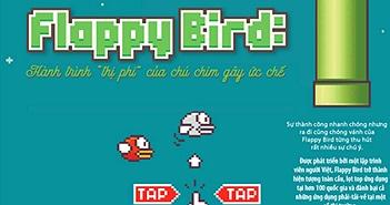 Chú chim Flappy bird khiến hàng triệu người muốn… đập điện thoại