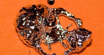 Chế tạo thành công kim loại lỏng: biến đổi được hình dáng, lập trình được, có thể dẫn điện