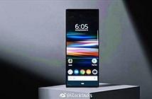 Ảnh render của Xperia XZ4 với màn hình 21:9 siêu dài