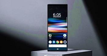 Ảnh render của Xperia XZ4 với màn hình 21:9 'siêu dài'