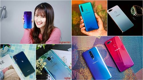 Những smartphone phong cách để diện đi chơi Tết