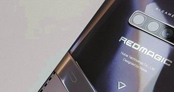 Rò rỉ thiết kế bắt mắt của Red Magic 6 phiên bản Tencent Games