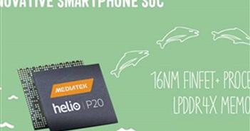 MediaTek công bố chip di động cao cấp Helio 20