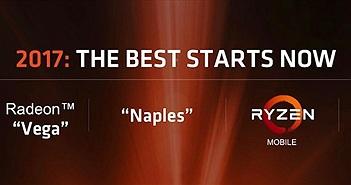 Chip AMD Ryzen chính thức ra mắt: Sức mạnh vượt quá mong đợi, giá rẻ hơn Intel