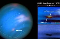 Bão khổng lồ trên sao Hải vương lọt tầm ngắm của Hubble