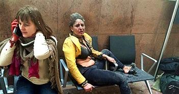 Câu chuyện đằng sau bức ảnh đánh bom Brussels chấn động cộng đồng mạng