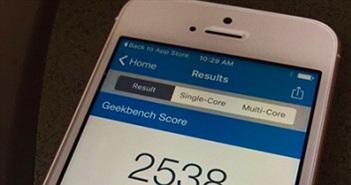 iPhone SE vượt qua iPhone 6S về hiệu năng