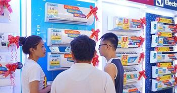 Thị trường máy lạnh trên 9 triệu đồng hút khách Việt
