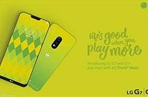 LG G7 xuất hiện trên poster với màu xanh lá non - Light Green đẹp mắt