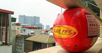 Trên tay bóng chữa cháy giá 1,5 triệu đồng, dập tắt lửa trong 3 giây