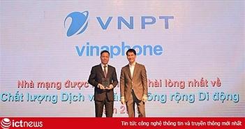VinaPhone được người dùng đánh giá cao về chất lượng dịch vụ di động 3G, 4G