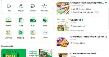 """Grab thử nghiệm dịch vụ """"đi siêu thị hộ"""" GrabMart tại TP. Hồ Chí Minh"""