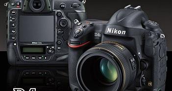 Firmware mới giúp Nikon D4s chụp liên tục không giới hạn