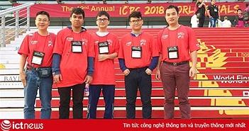 Đội tuyển Việt Nam lần đầu đạt top 15 tại Chung kết ACM/ICPC toàn cầu