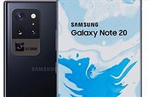 Lộ Galaxy Note 20 với ngoại hình xuất chúng, camera ẩn dưới màn hình