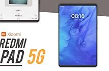 Redmi Pad 5G lộ diện với màn hình 90Hz, sạc nhanh 30W