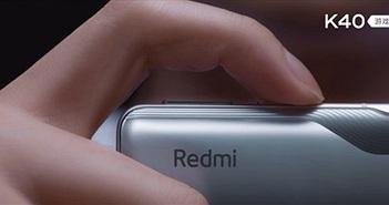 Redmi K40 Gaming khoe nút trigger như Black Shark 4