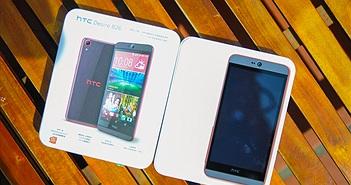 Trên tay HTC Desire 826: Bản thu gọn của 'vua tự sướng' Desire Eye