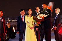 """Xôn xao vì nữ sinh Hà Nội viết facebook khen tay Barack Obama ấm lắm"""""""