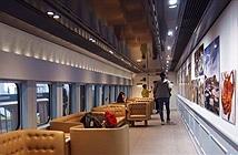 Nhật Bản trình diễn triển lãm nghệ thuật trên tàu cao tốc
