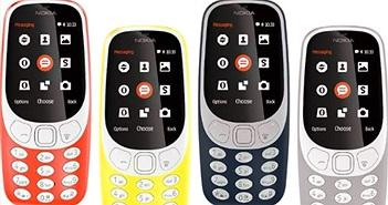 """Nokia 3310 mới đã """"cháy"""" hàng tại Việt Nam"""