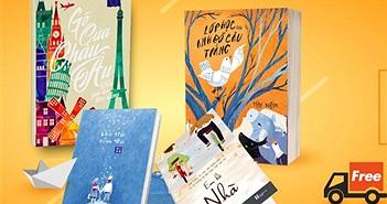 """Tiki ra mắt chương trình """"Freeship dù chỉ một cuốn sách"""""""