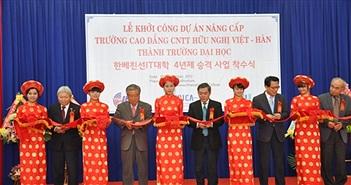 Đà Nẵng: Đề nghị Đại sứ Hàn Quốc hỗ trợ Cao đẳng Việt - Hàn lên Đại học