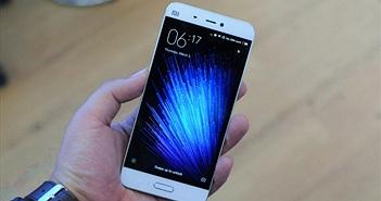 Xiaomi Mi 5s sẽ trang bị cảm biến vân tay siêu âm, camera kép