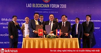 Lào hợp tác với một doanh nghiệp Việt thành lập Viện nghiên cứu Blockchain