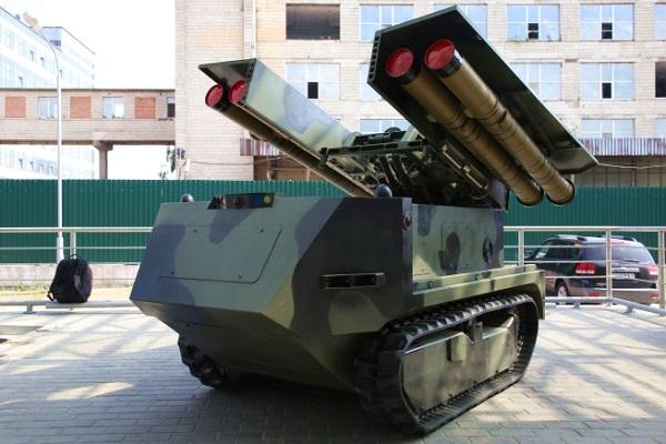 """Hết Nga, đến lượt Belarus khoe robot chiến đấu """"kẻ hủy diệt"""""""