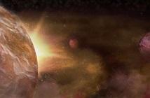 Kinh ngạc 3 hành tinh lạ quanh một ngôi sao đầy bụi