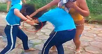 Thấy con gái đánh nhau, giật tóc, người mẹ làm chuyện kinh khủng...