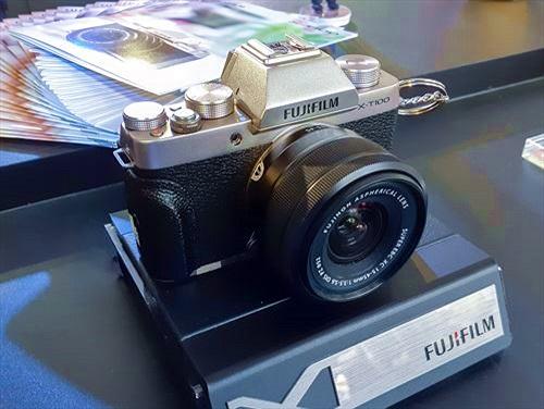 Máy ảnh Fujifilm X-T100 ra mắt thị trường Việt giá 14,5 triệu đồng