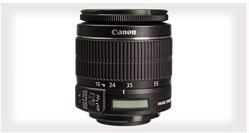 Ống kính Canon 18-55mm tiếp theo có thể sẽ được trang bị màn hình LCD