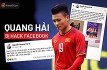 Quang Hải bị hack Facebook, lộ đoạn tin nhắn nhạy cảm về chuyện yêu đương