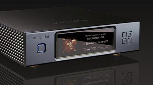 Aurender N200 trình làng - Công nghệ thừa hưởng từ model N20, màn hình lớn hiển thị bìa album