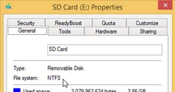 Cài ứng dụng Windows trên thẻ nhớ hay lưu trữ USB