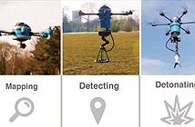 Ra mắt drone chuyên… dò tìm bom mìn