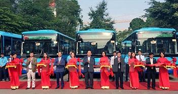 Hà Nội thay thế nhiều xe buýt mới chất lượng cao, wifi miễn phí