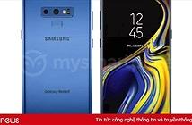 """Samsung Galaxy Note 9 lộ màu """"biển xanh sâu thẳm"""""""