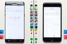 """[Galaxy Note 7] iPhone 6s """"hạ gục"""" Galaxy Note 7 trong bài đo hiệu năng"""