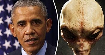 Ông Obama tiết lộ bí mật người ngoài hành tinh trước khi hết nhiệm kỳ?