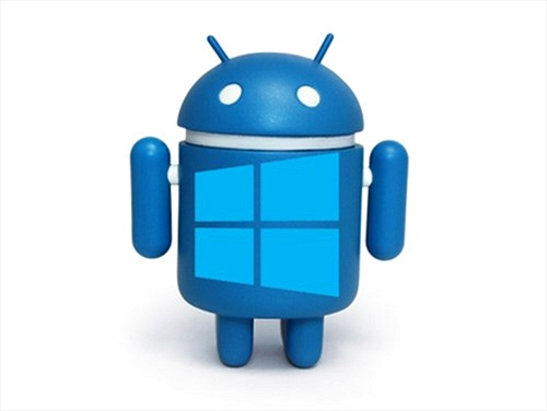 Smartphone Android của Lenovo cài ứng dụng Microsoft