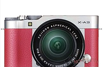 Mirrorless Fujifilm X-A3 lộ ảnh, ra mắt ngày 25/8