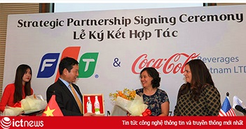 FPT ký thỏa thuận hợp tác chiến lược với Coca-Cola Việt Nam