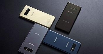 Đọ nhanh cấu hình Galaxy Note8 với S8+, Pixel XL và LG G6+