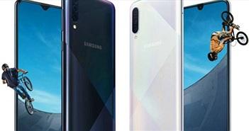 Galaxy A50s và A30s ra mắt với camera tốt hơn, mặt sau bắt mắt hơn