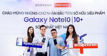 CellphoneS nhộn nhịp giao sớm Galaxy Note 10/Note 10+ ngay trong đêm